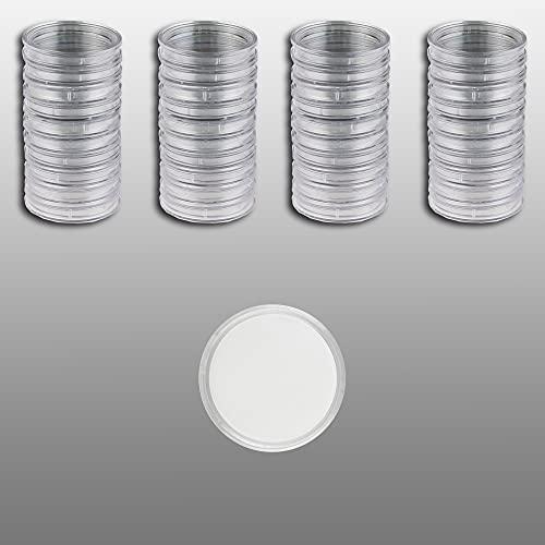 40 Münzkapseln Prophila 29 mm z.B. für 10-€URO-Polymer-Münzen (2019 ff), 5 DM, 5 Mark DDR, 2 Mk-, KR-, 20 OES-Münzen