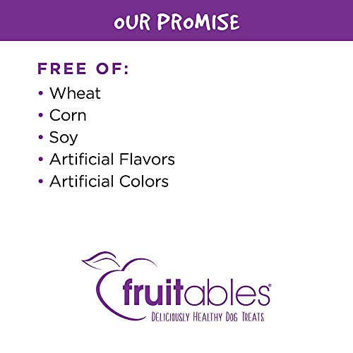 Fruitables Skinny Minis Grain Free Soft Dog Treats Pumpkin & Berry Flavor 5 Oz