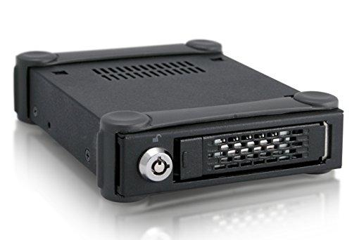 ICY DOCK Externes Festplattengehäuse für 1x 2,5 Zoll (6,4cm) SATA SSD/HDD - USB 3.0 ToughArmor MB991U3-1SB