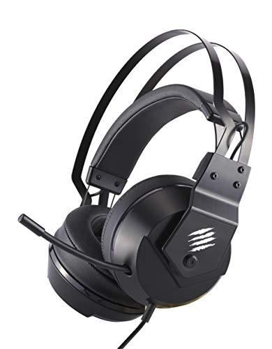 Mad Catz F.R.E.Q. 2 Binaural Diadema Negro - Auriculares con micrófono (PC/Juegos, Binaural, Diadema, Negro, Alámbrico, Circumaural)