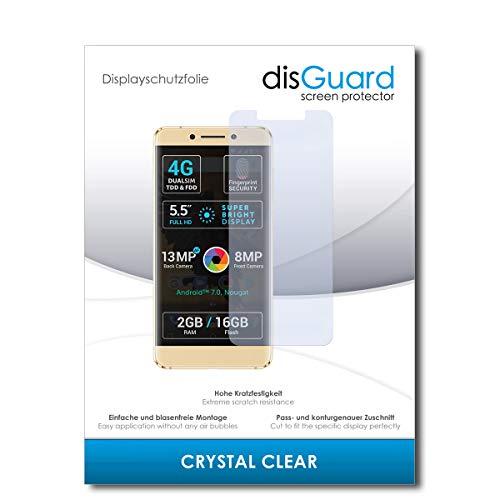 disGuard® Bildschirmschutzfolie [Crystal Clear] kompatibel mit Allview P8 Pro [2 Stück] Kristallklar, Transparent, Unsichtbar, Extrem Kratzfest, Anti-Fingerabdruck - Panzerglas Folie, Schutzfolie