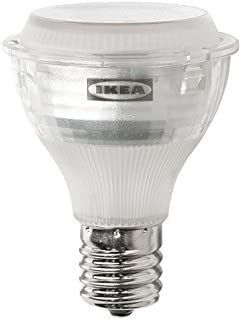 IKEA Ledare 103.658.34 LED Bulb E17 Reflector R14 400 lm Dimmable Warm Dimming