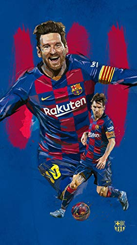 Theissen 2020 FC Barcelona King Lionel Messi Pictures, Colles, Posters - Matte...