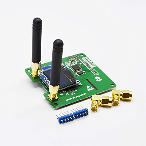 MMDVM Duplex Hotspot Module Dual Hat with 0.96 OLED Display V1.47 Support P25 DMR YSF NXDN DMR Slot 1 + Slot 2 for Raspberry pi (with OLED)