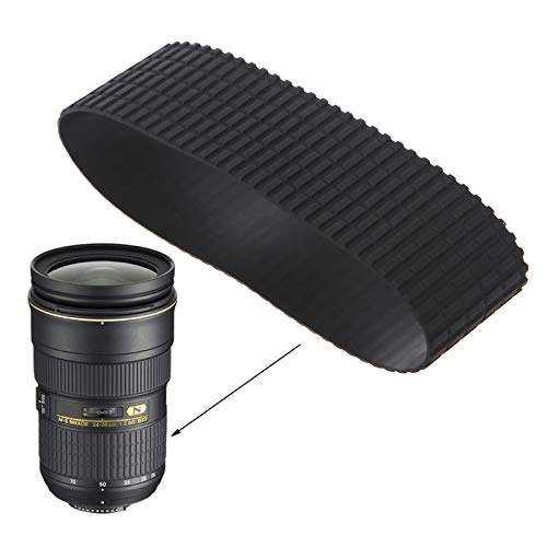 Camera Lens Zoom Grip Rubber Ring Repair for Nikon 24-70mm
