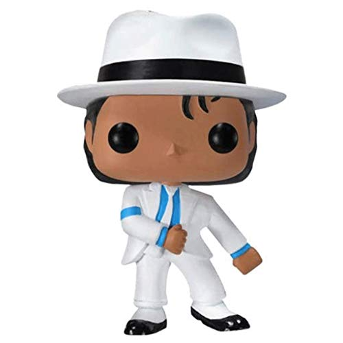 Lotoy Funko Pop Rock : Michael Jackson (Smooth Criminal) 3.9inch Vinyl Gift for Boys Music Fans Gift