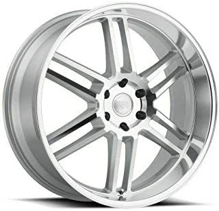 "4-Black Rhino Katavi 20x9 6x135 30 Silver Wheels Rims 20"" inch"