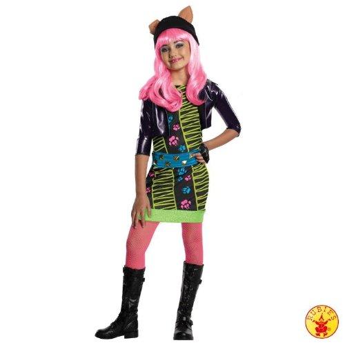Rubie's Niedliches Kostüm Monster High Howleen Wolf mit Perücke Kleid Gr. L = 140