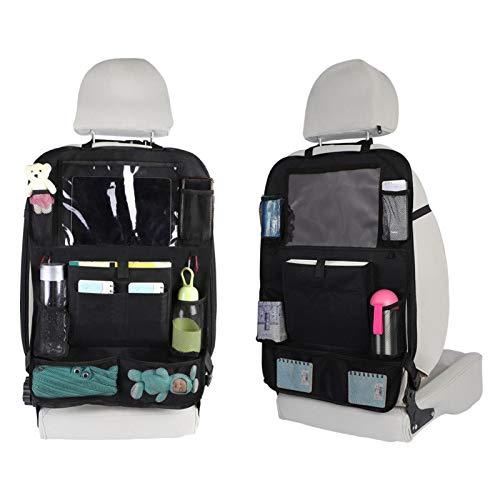 Car Net - Soporte para bolso de mano entre los asientos, organizador de coche, bolso de mano para coche, gran capacidad, barrera para el asiento trasero del coche, ayuda a mantener a los niños seguros