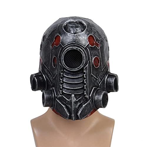 Casco de Halloween, máscara de Halloween, casco de máscara punk, casco de cara completa para disfraz de cosplay para adultos y hombres, Halloween