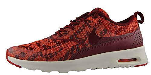 NIKE W Air Max Thea KJCRD Schuhe Damen Sneaker Turnschuhe Rot 718646 600, Größenauswahl:38