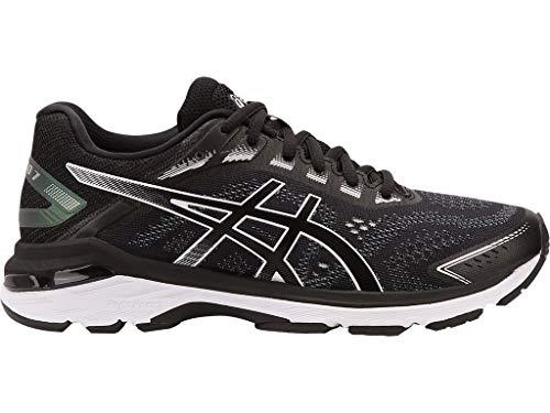 Asics GT-2000 7 - Zapatillas de running para mujer, Negro (Negro/Blanco), 37 EU