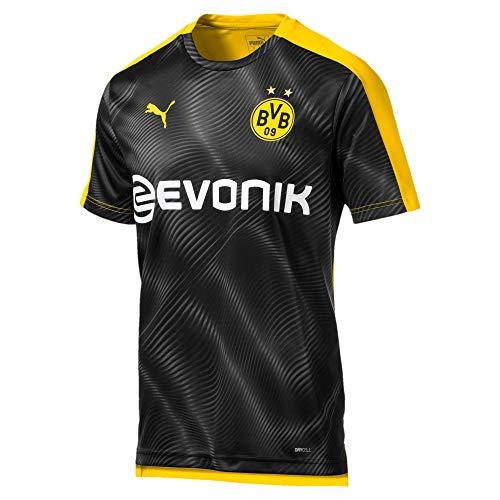 PUMA Camiseta del Borussia Dortmund Stadium League (XXL, negro/amarillo)