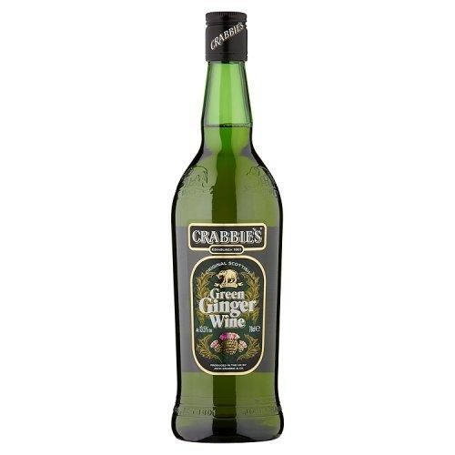 Crabbies Green Ginger Wine 70cl Alc Vol 13,5% - Ingwerwein