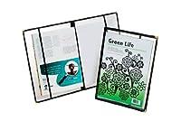 オックスフォード雑誌カバー、クリアカバー、ブラックバインディング、12–3/ 8x 9–1/ 4x 1/ 2、1各(78422)