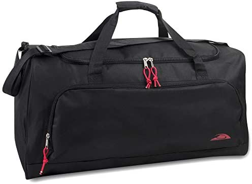 55 Liter 24 Inch Lightweight Canvas Duffle Bags for Men Women For Traveling the Gym and as Sports product image
