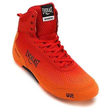 Everlast Forceknit, Zapatos de Boxeo Unisex Adulto, Dorado (Orange Orange), 41 EU
