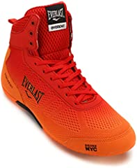 Everlast Forceknit, Zapatos de Boxeo Unisex Adulto, Dorado (Orange Orange), 41 EU