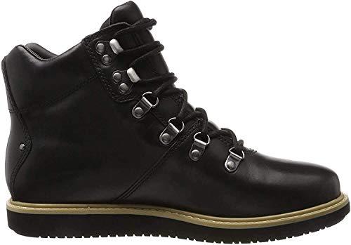 Clarks Glickasha GTX, Botas Mujer, Negro (Black Leather), 39 EU
