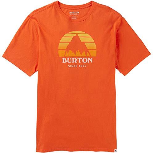 Burton Underhill - Maglietta da uomo, Uomo, arancione, M