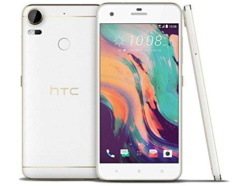 HTC Desire 10 Pro 64 GB, 4 GB RAM Carbon Factory Unlocked GSM (Polar White1)