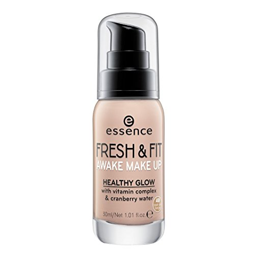 essence - Foundation - fresh & fit awake make up - fresh sun beige