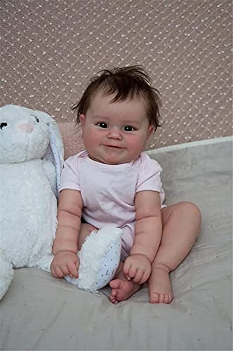 50 Cm Reborn Baby Doll Newborn Girl...