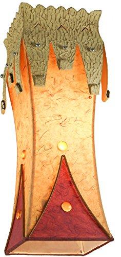 Guru-Shop Pendelleuchte Kokopelli Casablanca H1202, Metall, 44x15x15 cm, Bali Deckenleuchten