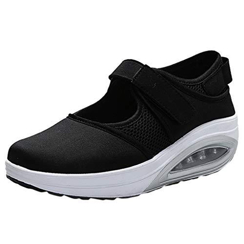 beautyjourney Zapatillas de Deporte de los Hombres Zapatos Casuales Bajos Zapatillas de Deporte Ligeras Transpirables de Color s/ólido Zapatillas Deportivas sin Cordones