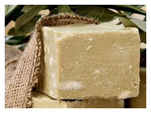 Olivenölseife, 100% Naturprodukt - 100% original Olivenölseife fürs Haar, Gesicht und Körper. Handgeschnitten Oliven Seife