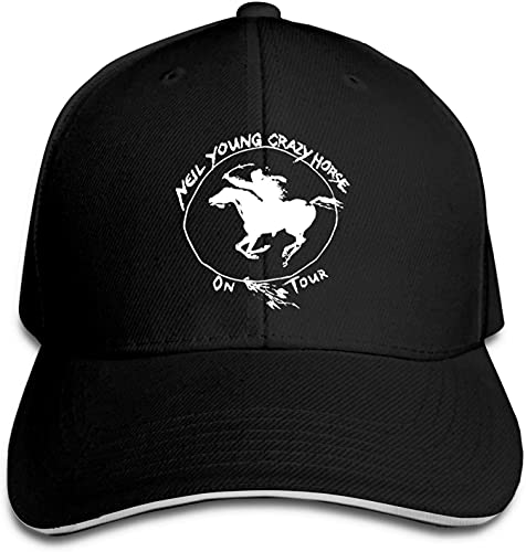 SBLB Neil Young Crazy Horse Adult Baseball Hat Sports Outdoor for Men and Women Snapback