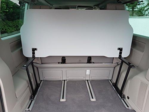 Tablero abatible para Volkswagen Multivan T5/T6, incluye bisagras en forma de L