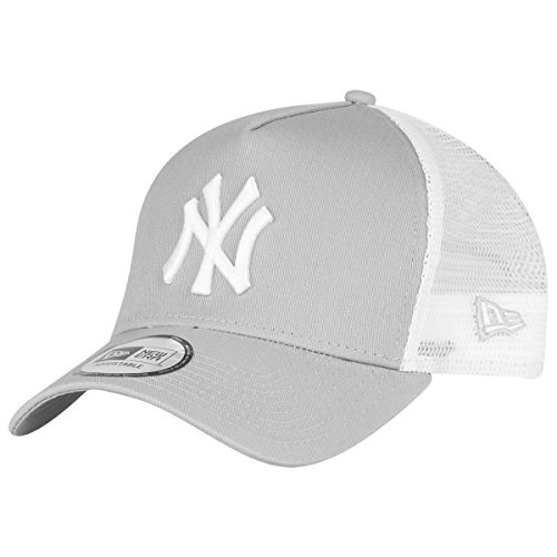 New Era Adjustable Trucker Cap - New York Yankees grau