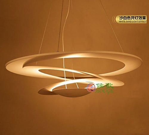 Uno stile moderno e minimalista lampadari in ferro di personalità creative rotonda jacuzzi ristorante soggiorno camera da letto lampadario