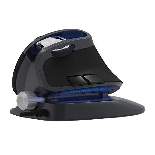 J-Tech Digital Wired Ergonomic Mouse with an Adjustable Angle Tilt, Vertical Mouse