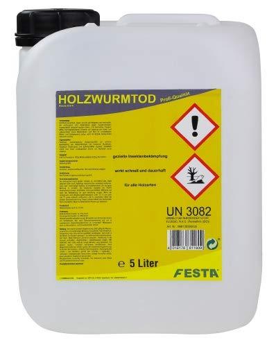 FESTA Holzwurmtod, Holzwurmex, Schädlingsbekämpfung 5 Liter