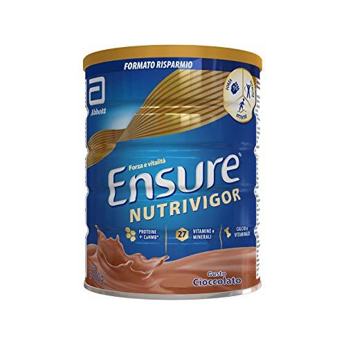 Ensure NutriVigor Integratore in Polvere al Cioccolato, Multivitaminico Multiminerale con 27 Vitamine e Minerali | Confezione 850g