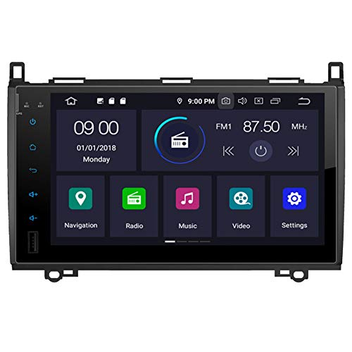 Autosion Android 10 autoradio Dvd GPS autoradio Stereo navigatore 64 GB BT 4 GB RAM WiFi per Mercedes Benz Sprinter Viano Classe B W245 Bluetooth Steeirng Wheel Control
