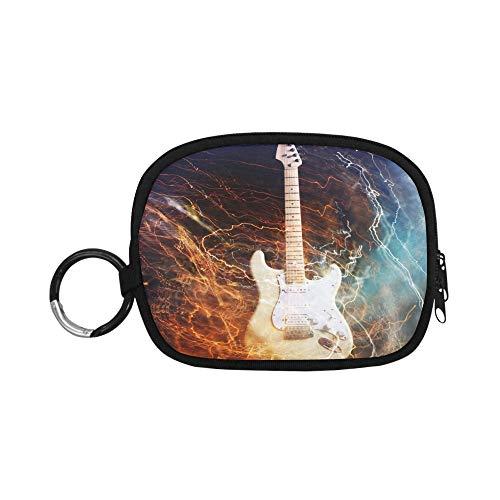 Coin Pouch Jazz Rock Cool Guitarra eléctrica para niño Funny Coin Pouch...
