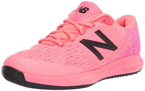 New Balance Women's FuelCell 996 V4 Tennis Shoe, Guava/Black, 5.5 M US