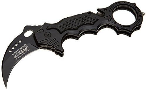 BlackField 88015 Security NIGHT THORN Messer, Schwarz