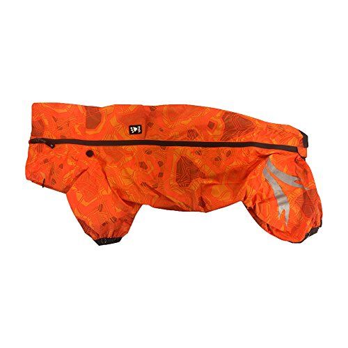 Hurtta Slush Combat Anzug wasserdicht Hund Overall, orange camo, 12 x s