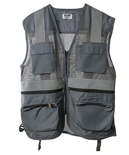 Club Twenty One Workwear Men's Polyester Reflective Safety Jacket (G-jacket)