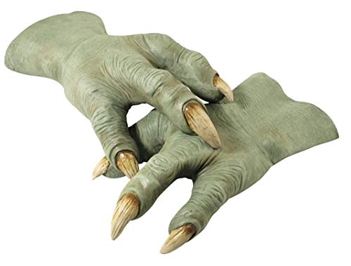 Rubie's costume's Deluxe Yoda Hands, Green, One Size