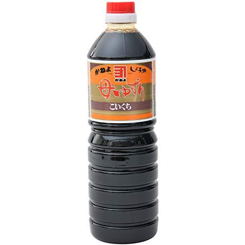 横山醸造 かねよ 母ゆずり濃口醤油 1000ml