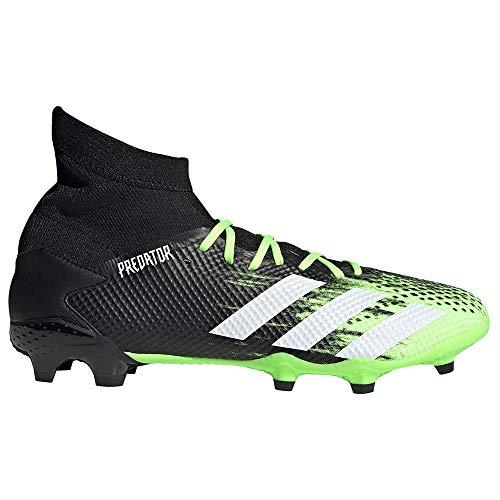 adidas Predator 20.3 FG, Botas de fútbol. Hombre, Siggnr Ftwwht Cblack, 43 1/3 EU ⭐