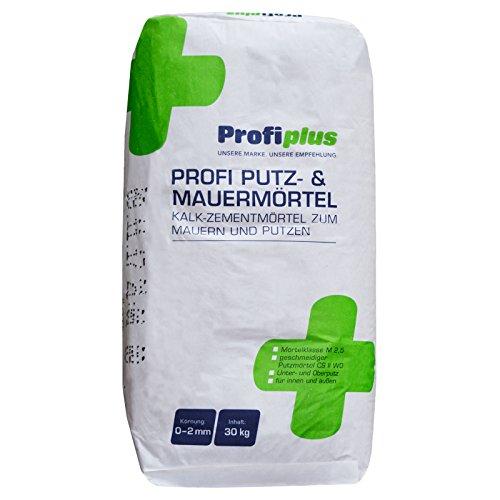 Profiplus Putz und Mauermörtel 30kg Sack Fertigmörtel