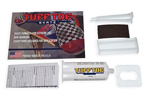 Tuff Toe Red Skate Shoe Protector Guard Cover Dip | Waterproof Shoe Repair Glue Adhesive