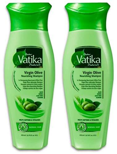 Dabur Vatika Naturals Virgin Olive Shampoo 200ml (2x 200ml)