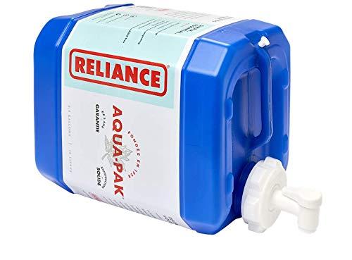 Reliance Products Aqua-Pak contenedor de agua rígido de 2.5 galones